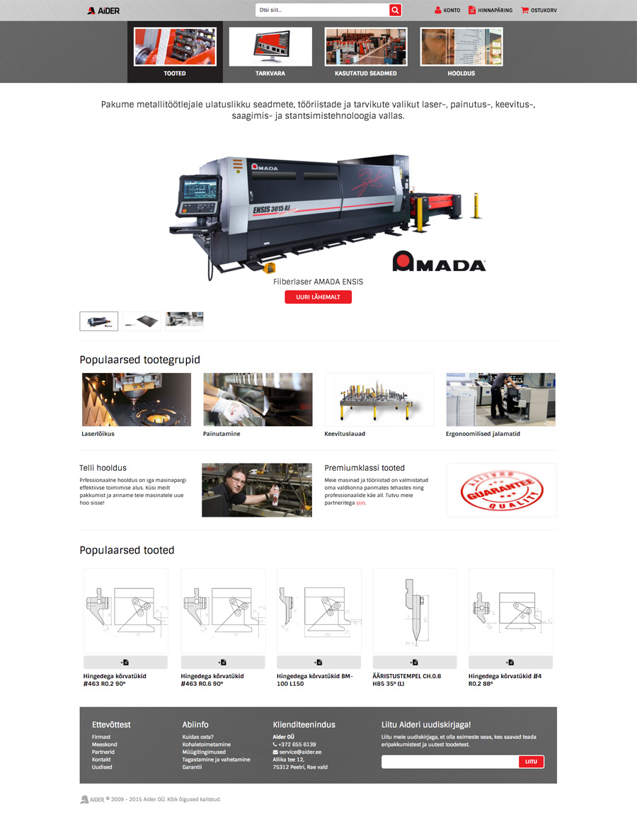 Aider - Product Page