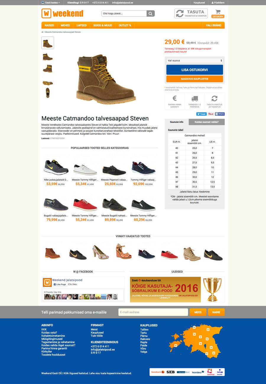 Jalatsipood - Home Page